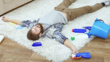 best way to clean carpet at home