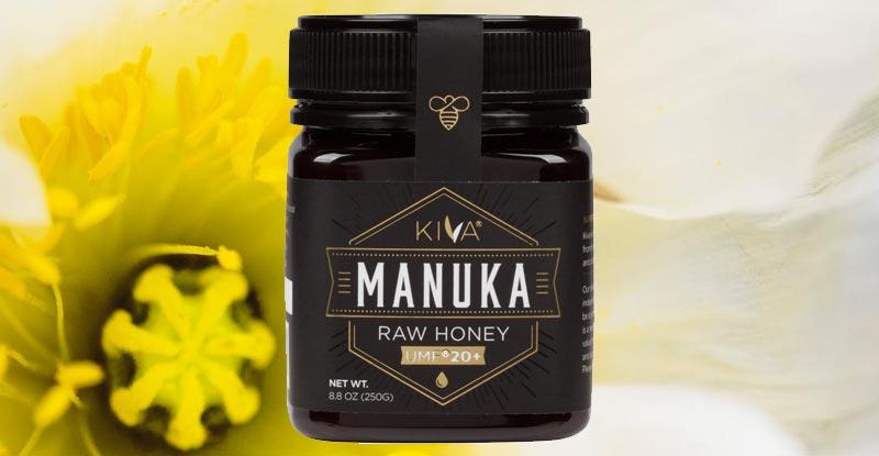 Kiva Certified Raw Manuka Honey