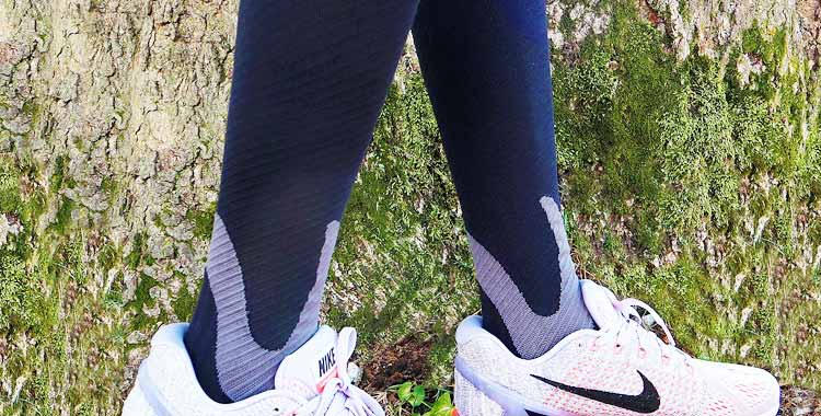BLITZU Compression Socks 20-30mmHg Men Women Recovery Running Travel Nursing