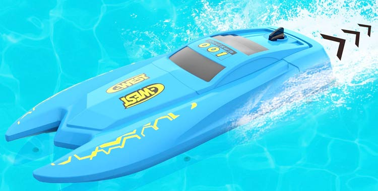 Szjjx Rc Boat with Long Battery Life