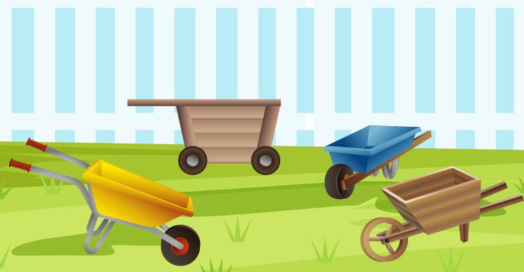 best garden cart wheelbarrow