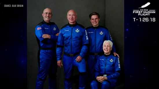 Blue Origin's New Shepard & Jeff Bezos's Space Travel