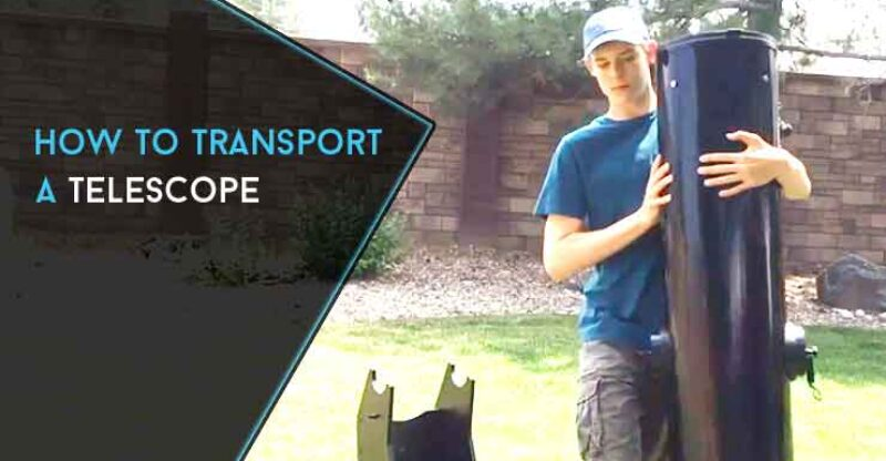 How to Transport a Telescope