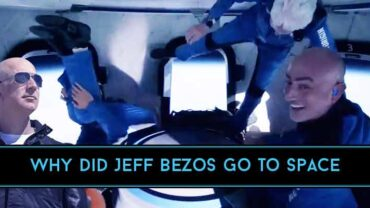 Why did Jeff Bezos go to Space